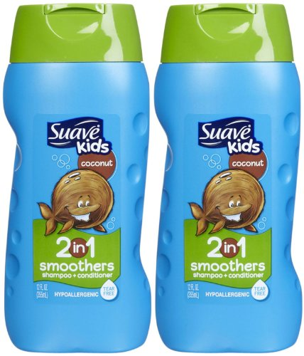 Suave Kids 2-in-1 Shampoo & Conditioner - Cowabunga Coconut - 12 oz - 2 pk