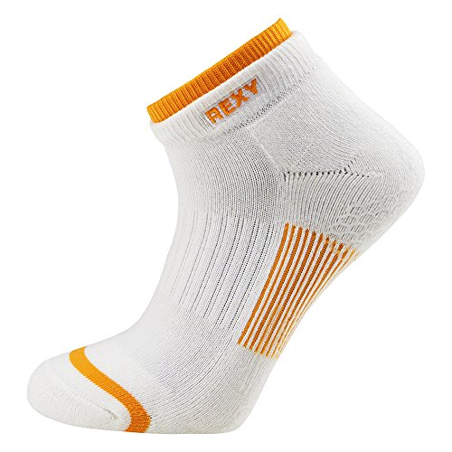 Rexy Functional Balance Women's Golf Low Cut Socks Arrow Mesh Yellow GF6L-11 by Rexy (Image #1)