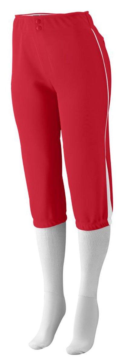 Augusta Sportswear PANTS レディース B00IUJE9B4 S|レッド/ホワイト レッド/ホワイト S