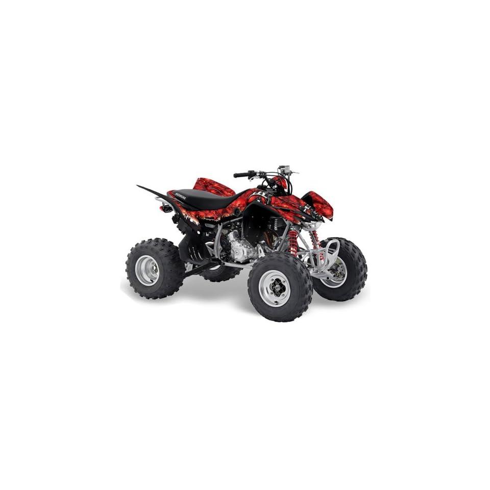 AMR Racing Honda TRX 400EX 2008 2011 ATV Quad Graphic Kit   Reaper Red
