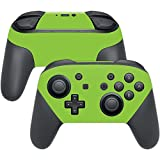 Cheap MightySkins Protective Vinyl Skin Decal for Nintendo Switch Pro Controller wrap cover sticker skins Solid Lime Green