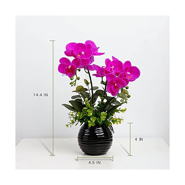 YILIYAJIA-Artificial-Orchid-Bonsai-with-Ceramics-Vase-Fake-PU-Real-Touch-Flowers-Phalaenopsis-Bonsai-for-Table-Office-Home-Party-Decoration