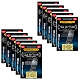 Harper Grove Cell Phone Internal Antenna Signal Reception Booster, 10 Pack, for Apple iPhone SE 4 4S 5 5C 5S 6 6S 7 7S 8 8+ X XS XR XS MAX