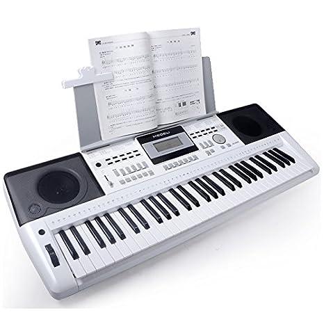 Medeli teclado arrangeur a 100 color Blanco: Amazon.es: Instrumentos musicales