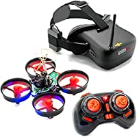 All in One Banshee Micro FPV Quadcopter Starter Package RTF Tiny Whoop