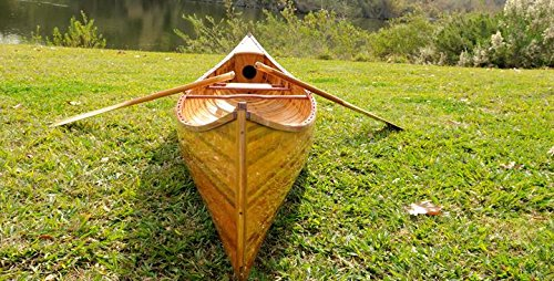 Old Modern Handicrafts Canoe with Ribs Curved Bow, 12-Feet