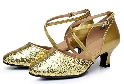 Damen Heel 5cm amp; MGM Joymod Gold Modern Style1 Jazz 5qAtwUO