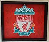 Liverpool Football Club Soccer Logo Picture Custom Frame 3D Art Sports