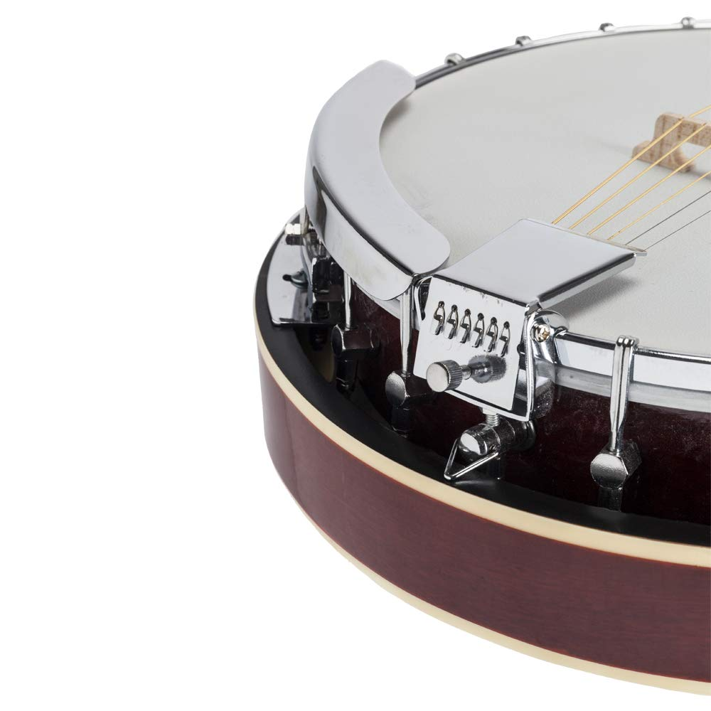 Top Grade Exquisite Professional Sapelli Notopleura Wood Alloy 6-string Banjo by Teekland (Image #7)