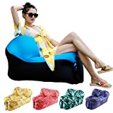 HAKE Inflatable Chair Air Chair Portable and Lightweight Camping Chair with Carry Bag for Camping Picnics and Music Festivals