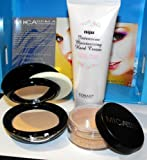 2bundle 3 Items: 1xmicabeauty Powder Mineral Foundations #Mf5 Cappuccino+ 1x Pressed Foundation Mf-5+1x Hand Cream