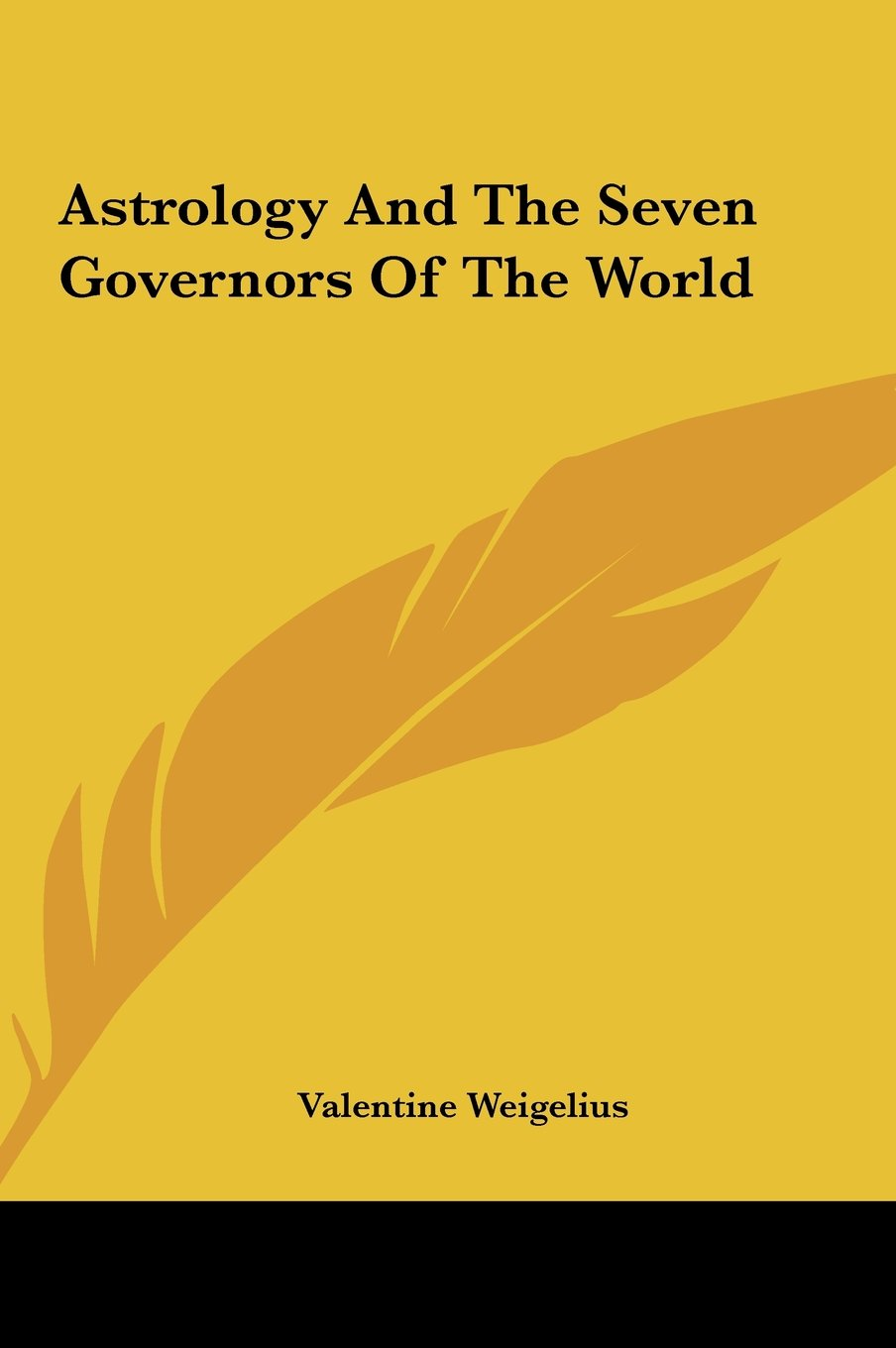 Astrology And The Seven Governors Of The World pdf epub
