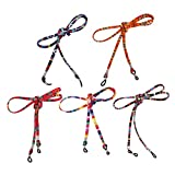 YiZYiF 5pcs Multicolor Eyewear Retainer Sunglasses Neck Cord Safety Strap Holder Eyeglass Glasses String Lanyard Multicolor Type A