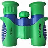 Binoculars for Kids 8x21 Shock Proof Set by Living Squad - Birdwatching - Real Educational Learning- Comfortable Eyepiece- Birthday Gift Guide- Compact- Best Resolution- Outdoor Camp- Toy (USA SELLER)