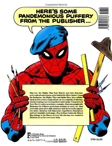 Amazon com how to draw comics the marvel way 9780671530778 stan lee john buscema books