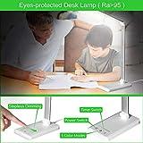 LED Desk Lamp,Eye-Caring Table Lamps,Stepless