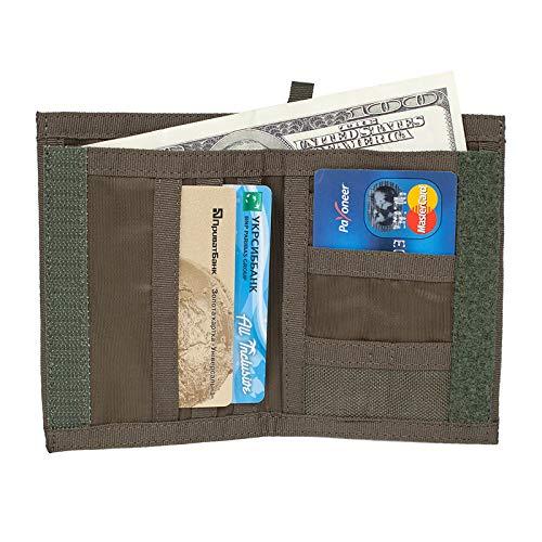 CHAMELEON Tactical Wallet for Men ID-Card Holder- Mens designer wallets- Cordura Mens military & army wallet-Nylon loop-Sport wallets- Best gift for Men
