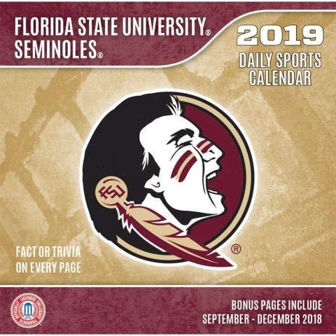 Turner 1 Sport Florida State Seminoles 2019 Box Calendar Desk Calendar (19998051374) - Sports Fsu