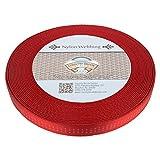 Country Brook Design 1 Inch Red Climbing Spec Tubular Nylon Webbing, 10 Yards