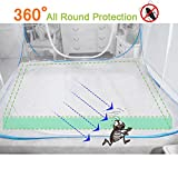 OTraki-Pop-up-Mosquito-Net-200L-x-180W-x-150H-Portable-Anti-Mosquito-Tent-Free-Standing-Baby-Kids-Adult-Netting-Bottomed-Tents-Outdoor-Foldable-Popup-Large-Travel-Mesh-Canopy