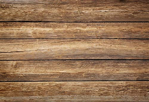 LFEEY 9x6ft Wood Backdrops for Photography Retro Wood Board Wooden Planks as Blank Textured Background Wedding Festival Party Backdrop Children Kids Adults Portraits Photo Studio Props