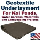 10' x 15' Geotextile Underlayment & Landscape Fabric by PatriotGuard
