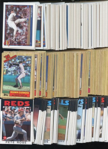 1987 1991 1986 Topps Baseball Card Complete Set Box Colle...
