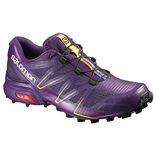 Salomon L38309000, Zapatillas de Trail Running para Mujer Morado (Cosmic Purple /     Passion Purple /     Black)