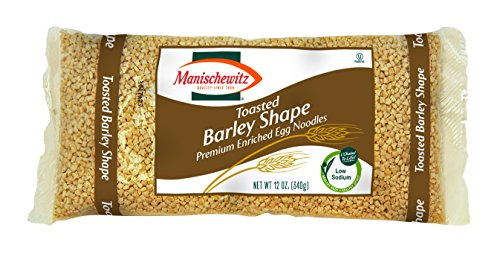 (MANISCHEWITZ Toasted Barley Egg Noodles, 12-Ounce Bags (Pack of 12))