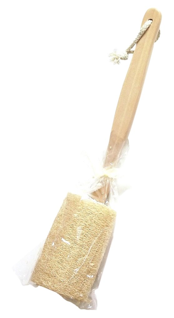 Finesse Loofah on Wooden Handle F464
