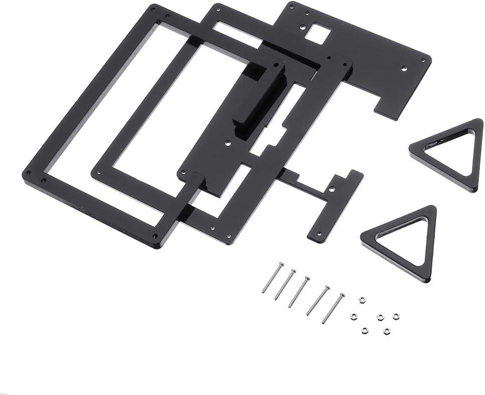 Plus MYAMIA 5 inch LCD /Écran DAffichage Support Acrylique Stander Case pour Raspberry Pi 3B