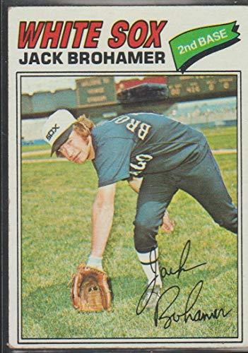 1977 Topps Jack Brohamer White Sox Baseball Card #293