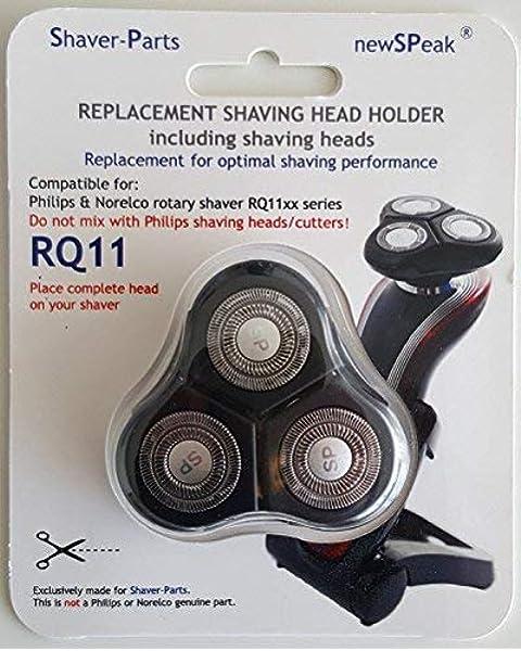 Cabezal de afeitado Philips RQ11 alternativo con 3 cabezales de ...