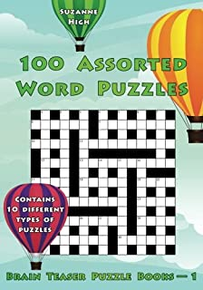 Link words 100 word puzzles can you find the 1 word that links 100 assorted word puzzles uk edition volume 1 brain teaser puzzle books expocarfo