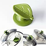Wiizez Universal Crockpot Cookware Lid Knob Handle Replacement   With Practical Spoon Rest and Protective Hand Grip   (2 Pcs)