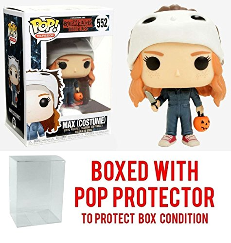 Funko Pop! Television Stranger Things Max #552 w/Costume (Bundled with Pop Protector)]()