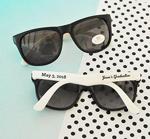 Set of 24 Personalized Graduation Sunglasses Graduation Party Favors