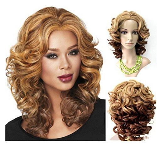 Goldenchildhood Short straight hair short curly hair long straight hair curly hair long wavy wig Cosplay Women