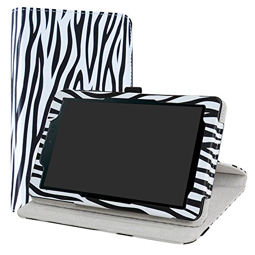 Sprint Slate 8 Case,LiuShan 360 Degree Rotation Stand PU Leather With Cute Pattern Cover for 8