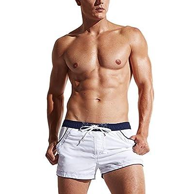 LETSQK Men's Sexy Swimwear Shorts Surf Swimsuit Swim Trunks