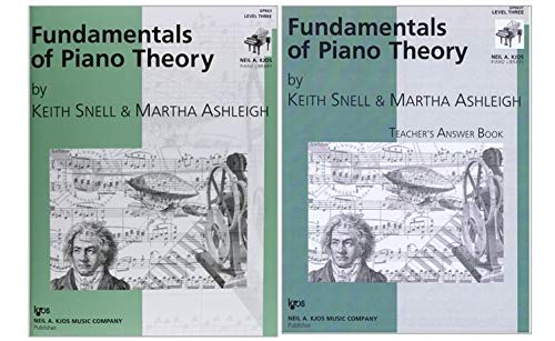 Piano Theory: Fundamentals of Piano Theory Level 3 Three with Teacher's Answer Book