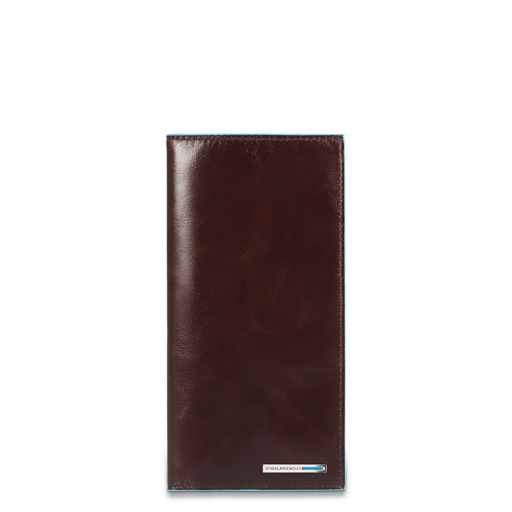 Piquadro Travel Document Holder with Credit Card Slots, Mahogany, One Size by Piquadro