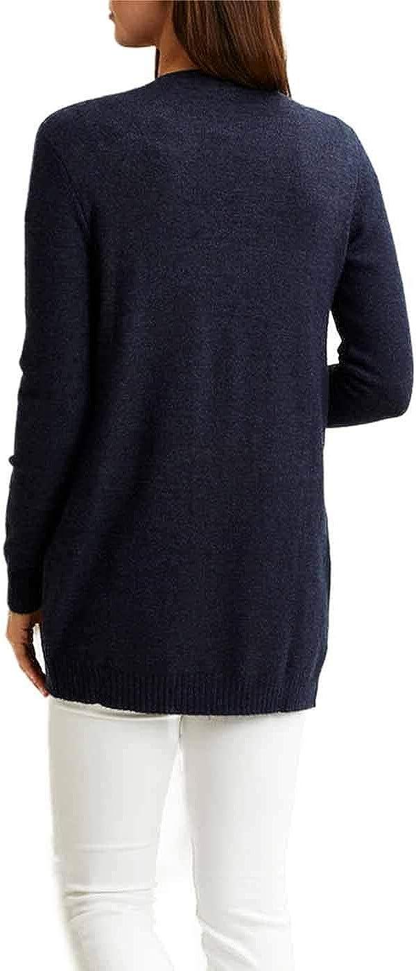Vila Viril L//s Open Knit Cardigan-Noos Chaqueta Punto para Mujer