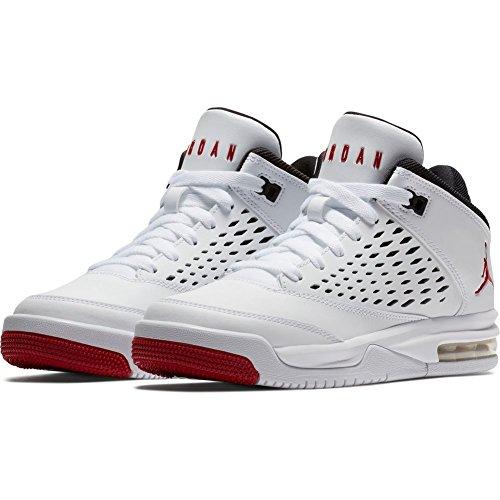 Zapatillas Jordan �?Flight Origin 4 Bg blanco/rojo/negro talla: 36,5