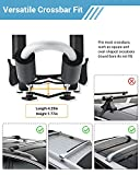 Sportneer 1 Pair Kayak Roof Carrier Rack, 2 in 1
