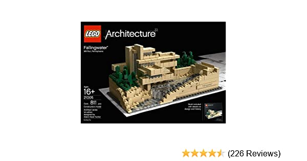 amazon com lego architecture fallingwater 21005 discontinued by