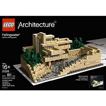 Amazon.com: LEGO Architecture Fallingwater (21005) (Discontinued by ...