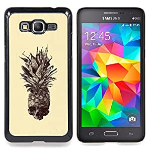 SKCASE Center / Funda Carcasa protectora - Cráneo Piña;;;;;;;; - Samsung Galaxy Grand Prime G530H / DS