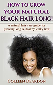 GROW YOUR NATURAL BLACK HAIR ebook product image