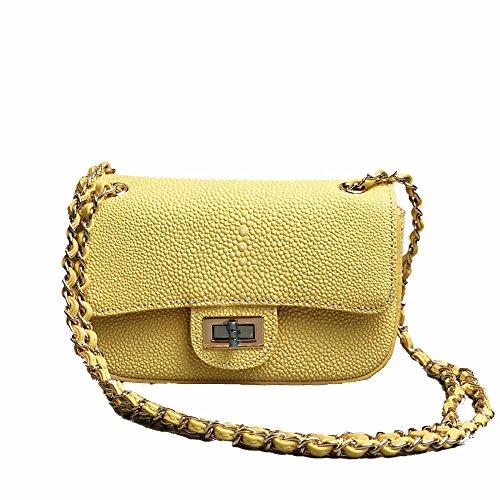 shoulder multifunction Yellow oblique mobile cross bag Single bags phone women Axiba qPptOw